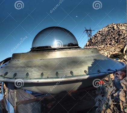 desert-spaceship-waxing-moon-empty-alien-southern-california-near-jacumba-small-background-clear-blue-sky-124463910
