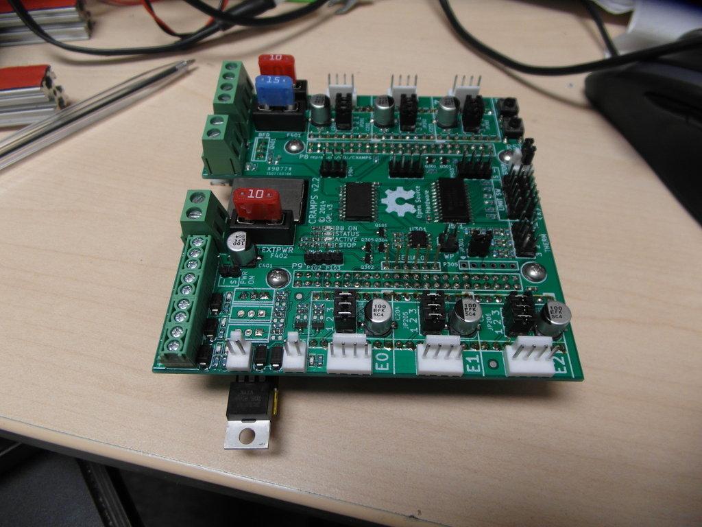 CRAMPS (CNC/3DP beaglebone cape) PCB group buy? - Projects - VHS