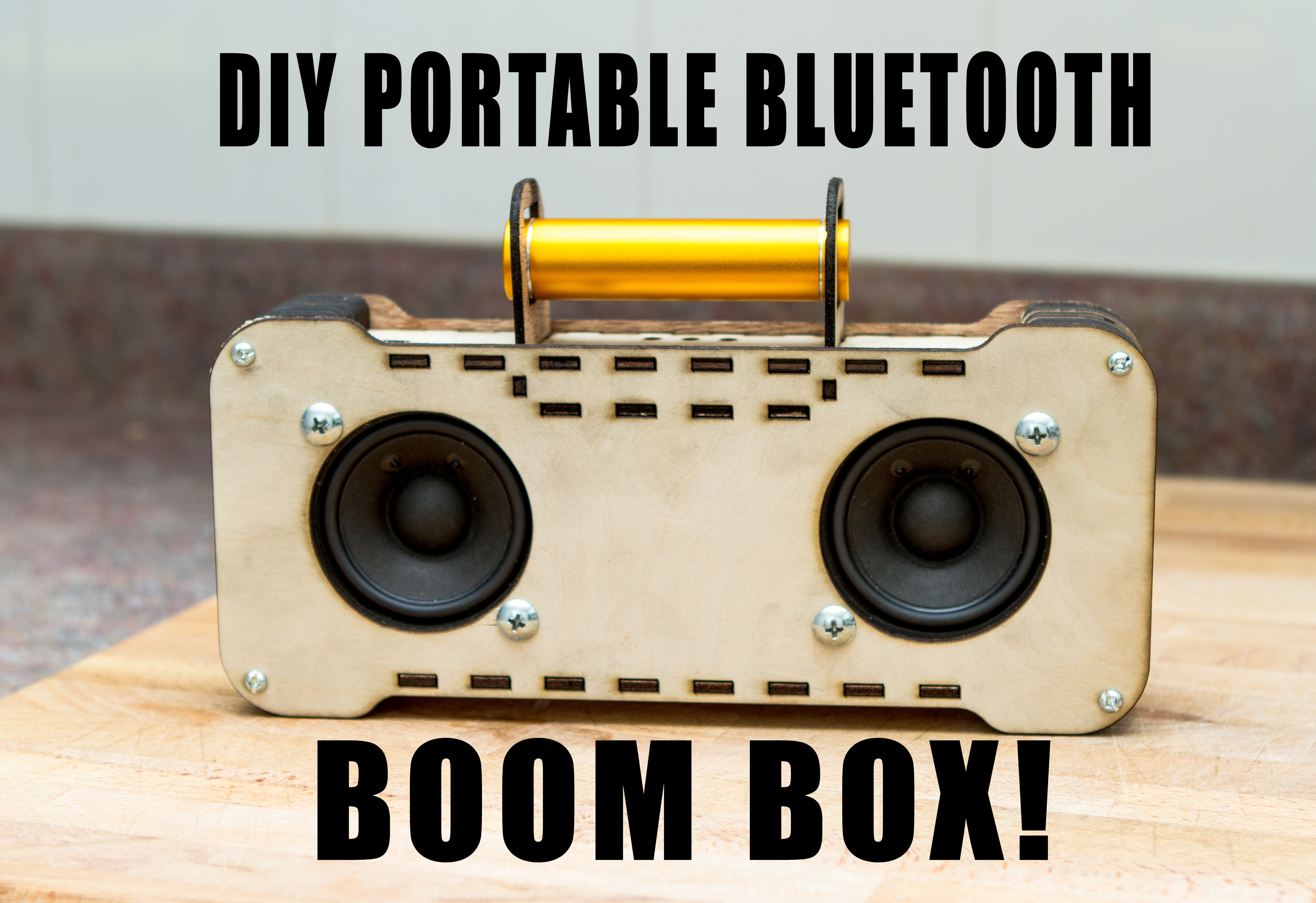 Workshop Diy Bluetooth Boom Box This Monday Events And