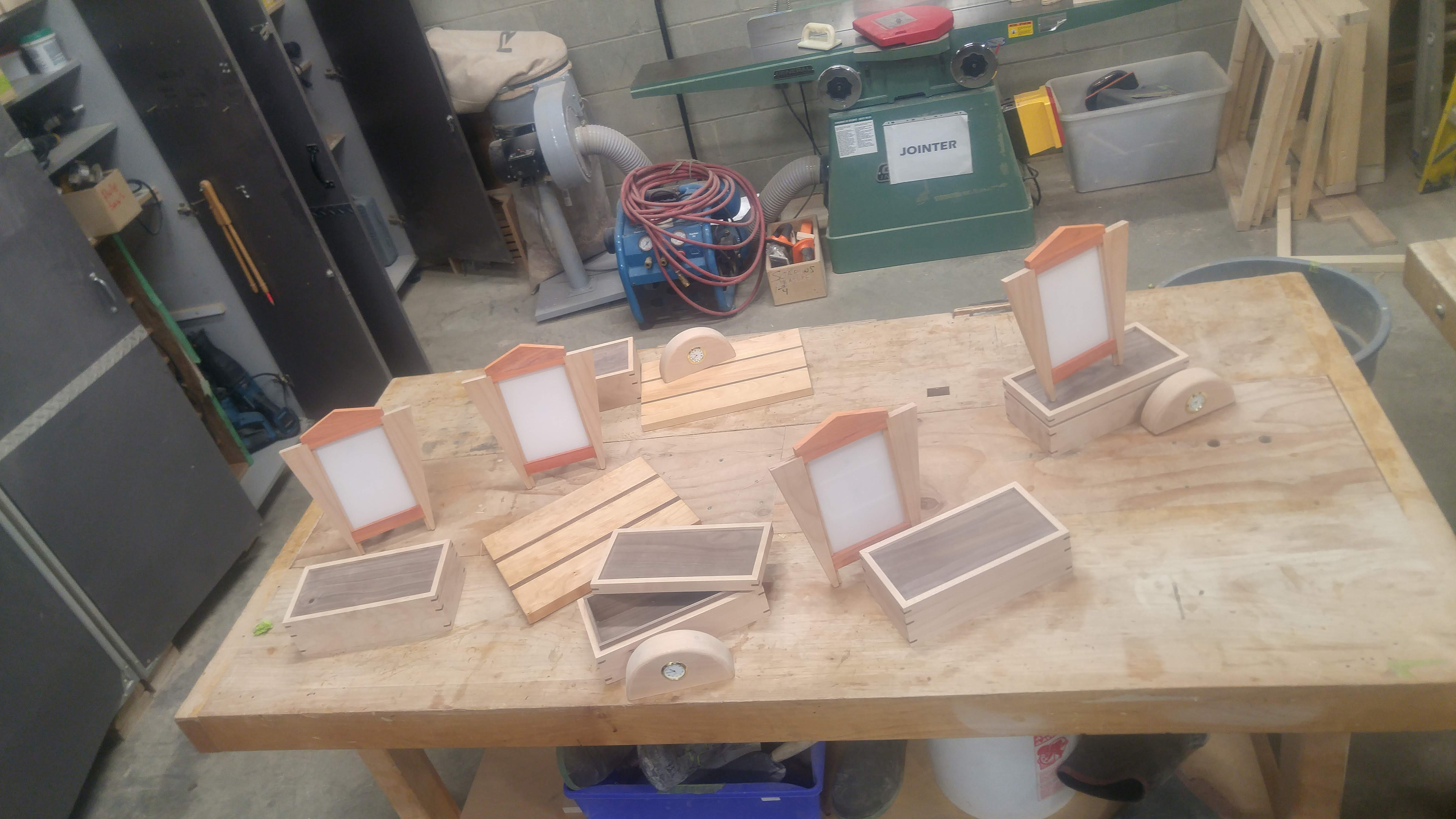 woodworking evening course at tradeworks - commercial ops