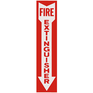 Fire-Extinguisher-Arrow-Sign