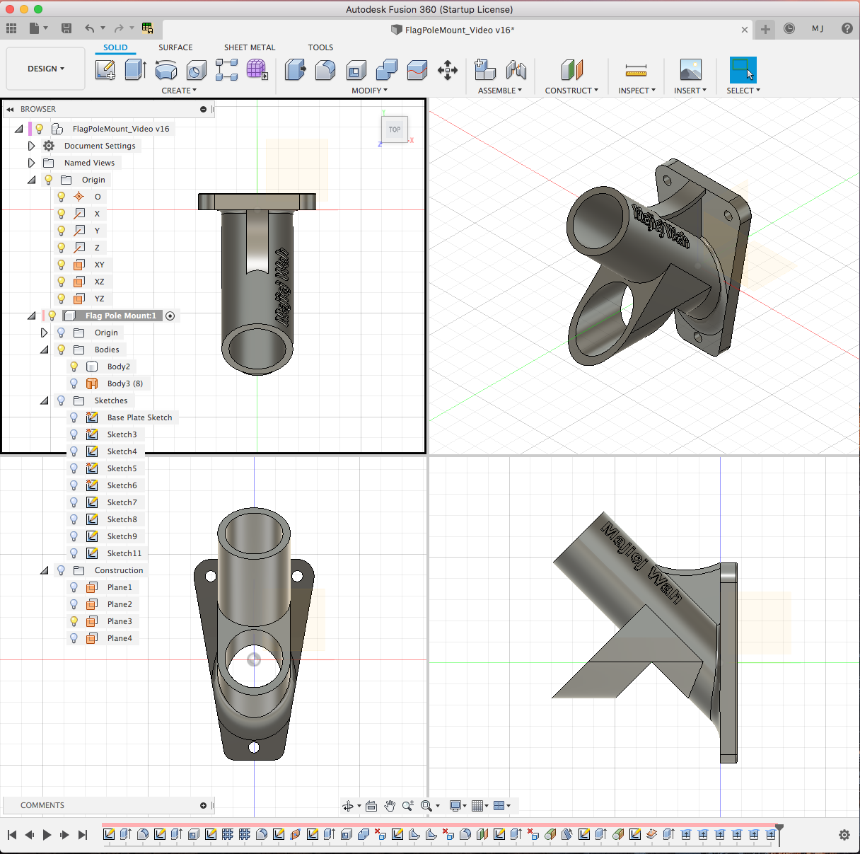 Learning 3D Modeling with Fusion 360 - Projects - VHS Talk