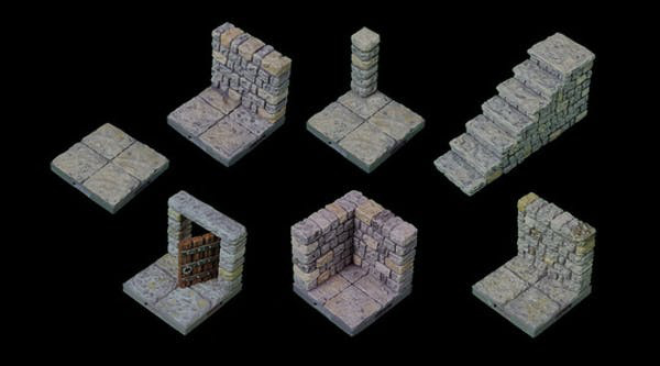 image regarding Printable Dungeon Tiles titled Humble Deal: 3d Printable Dungeons! - Tasks - VHS Speak